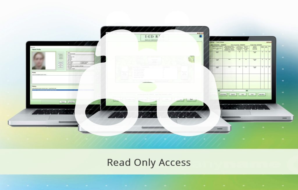 ecdr read only access licence