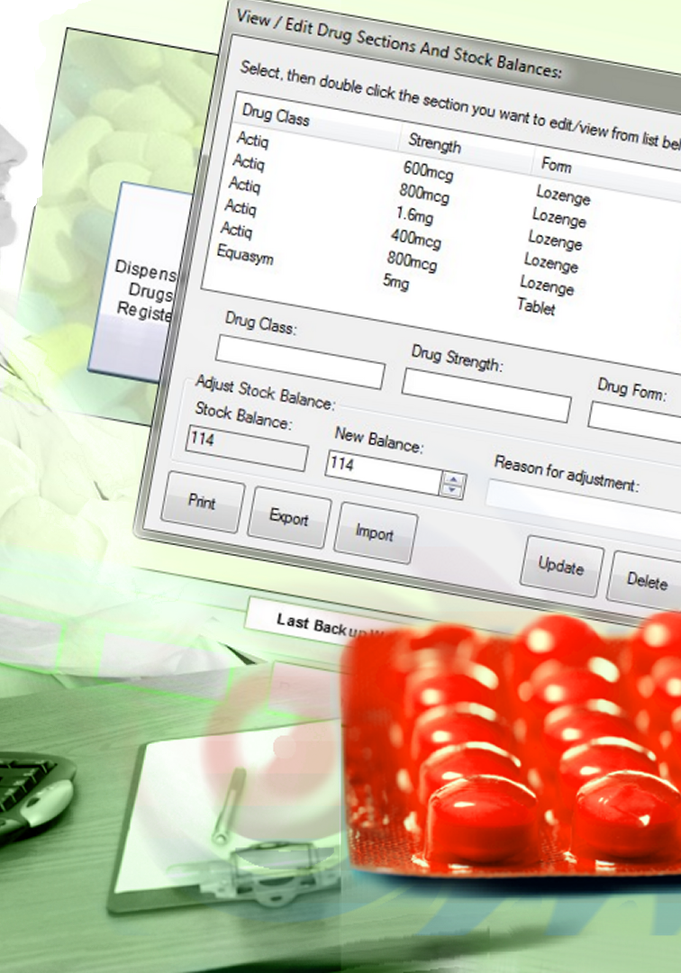 pharmacy ecdr software